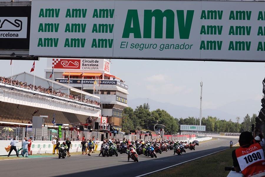 inicio de la carrera AMV 24 horas de Cataluña