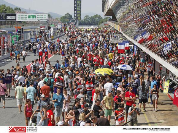 pit walk del Circuit de Barcelona-Catalunya
