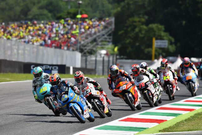 Arón Canet en el Gran Premio de Italia 2018