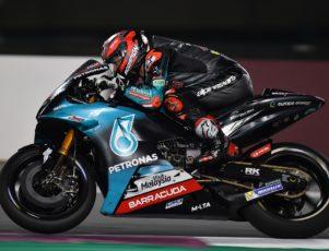 Fabio Quartararo Test MotoGP Doha