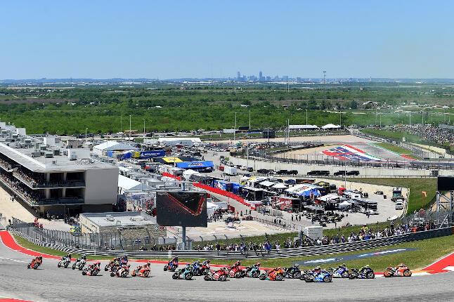 Curva 1 del circuito de las Américas de Austin