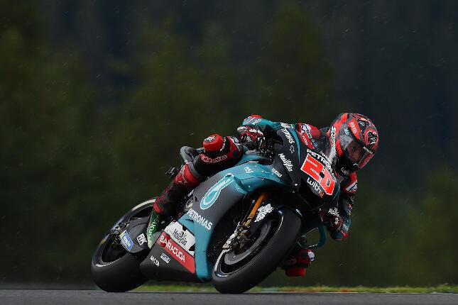 Fabio Quartararo, Petronas Yamaha Srt  Yamaha. MotoGP Czech Republic 2019