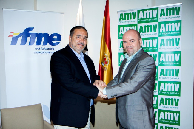 AMV Seguros y la RFME sellan un acuerdo de colaboración