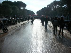 Adherencia del asfalto