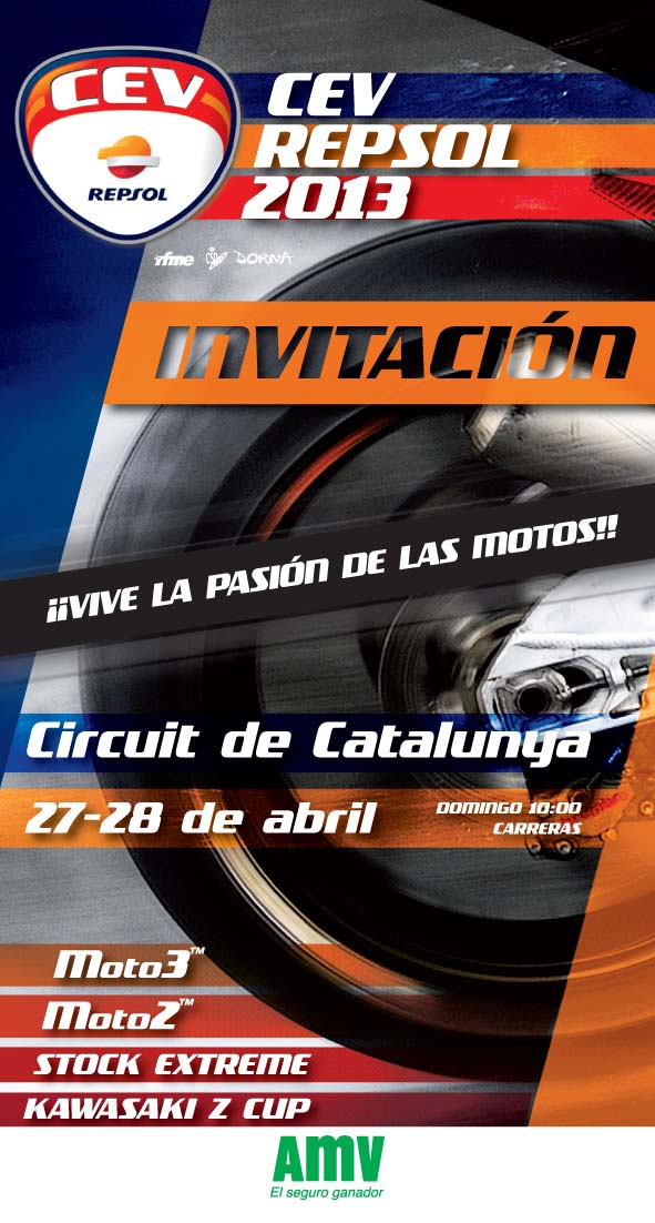 Invitación AMV CEV Catalunya