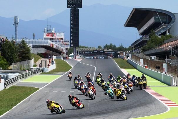 Comienzo del CEV, disputado en el circuito de Montmeló, en la categoría Moto2. | Web Oficial FIM CEV