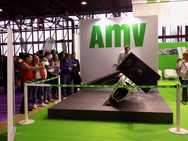 Simulador MotoGP stand AMV MotoMadrid 2018