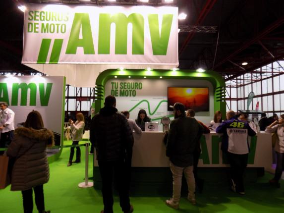 Visitantes stand AMV MotoMadrid 2018