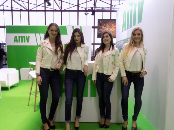 Personal AMV en MotoMadrid 2018
