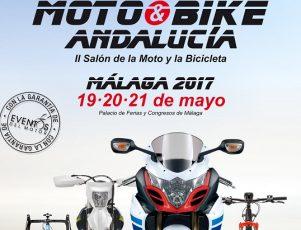 Cartel II Moto&Bike Andalucía 2017