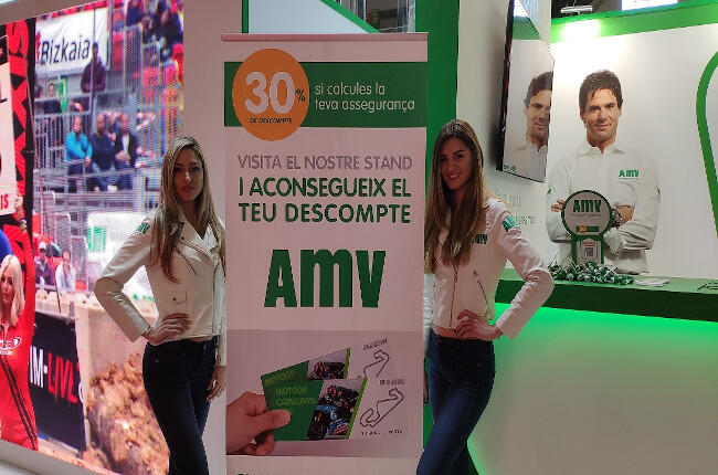Azafatas AMV Vive la Moto BCN