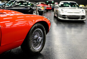 Exposición de coches clásicos en Salzburg, Austria, 17 oct 2020