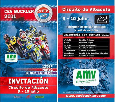invitación CEV Buckler 2011