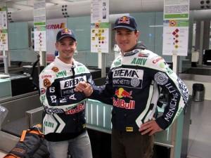 Marc Coma y Jordi Viladoms