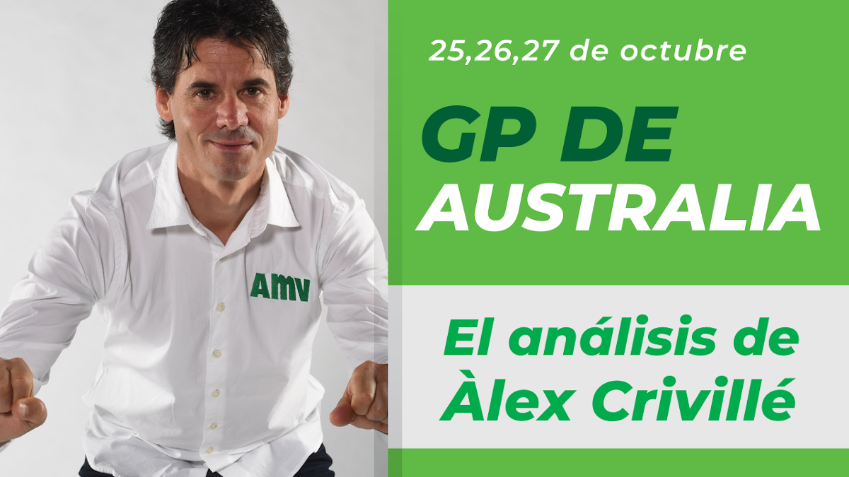 Crivillé analiza para AMV el MotoGP de Australia