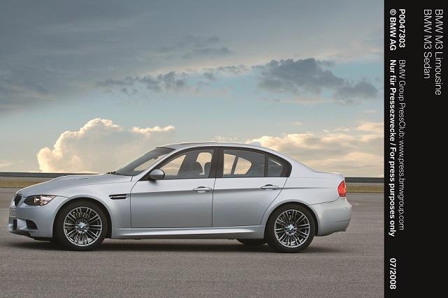 Valentino Rossi recibión un BMW M3 Sedan