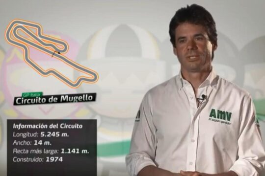 Álex Crivillé, circuito de Mugello MotoGP