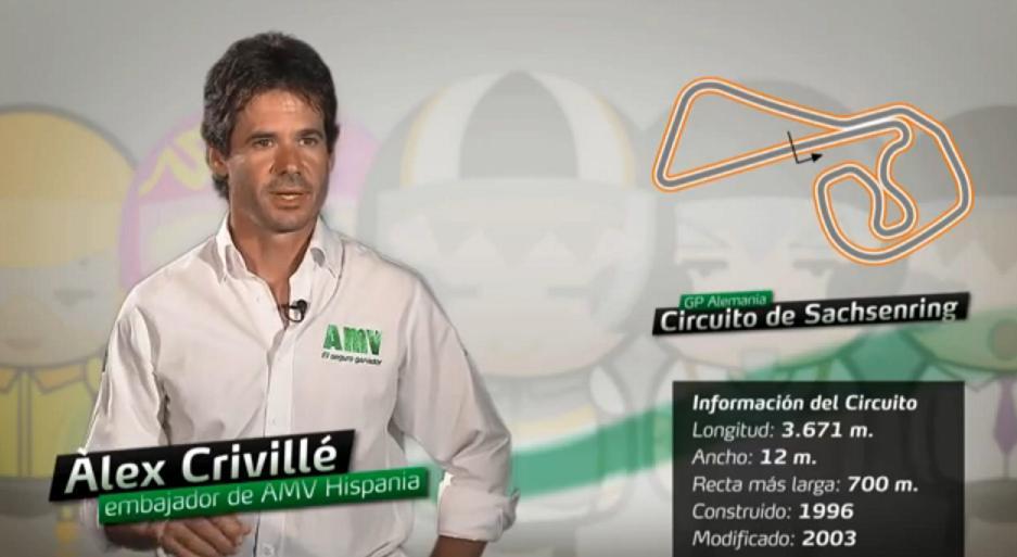 Álex Crivillé analiza el GP de Alemania