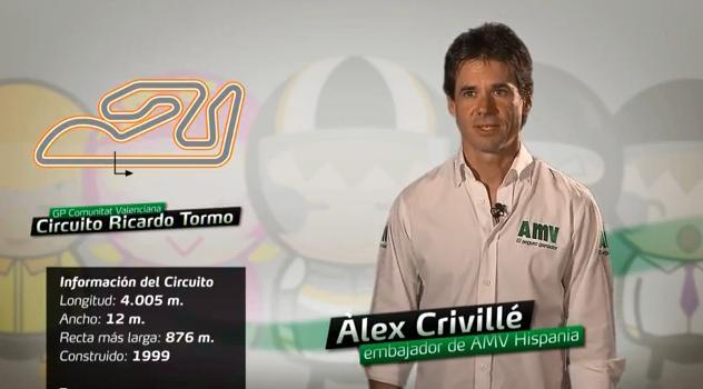 Álex Crivillé analiza el Circuito Ricardo Tormo