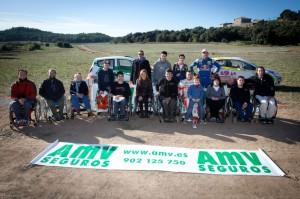 Jornada solidaria con la fundación Nani Roma y AMV a favor de La Maratón de TV3