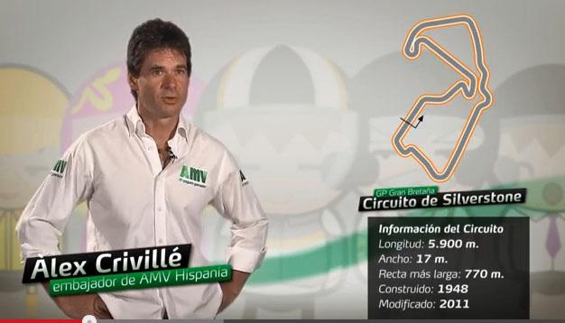 análisis Álex Crivillé circuito Silverstone