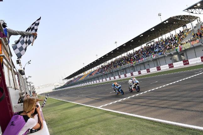 Aron Canet - MotoGP Qatar 2018