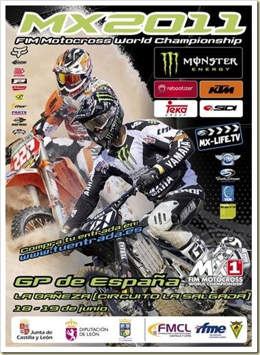 Cartel promocional MX2011