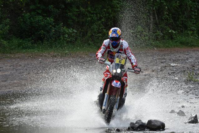 Dakar 2016. Joan Barreda en acción. (AMV Prensa)