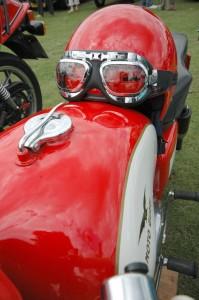 Cambiar casco de moto
