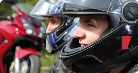 El casco más adecuado para tu moto