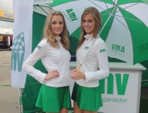Azafatas en el CEV de Navarra 2015 (AMV)