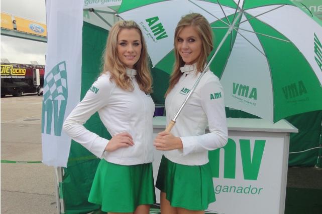 Azafatas en el CEV de Navarra 2015 (AMV Prensa)