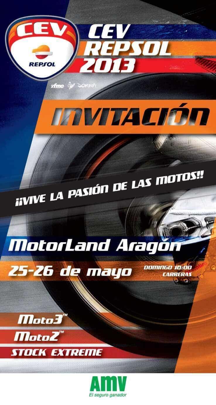 CEV Aragón 2013 - Invitación AMV