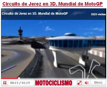 Circuito de Jerez en 3D