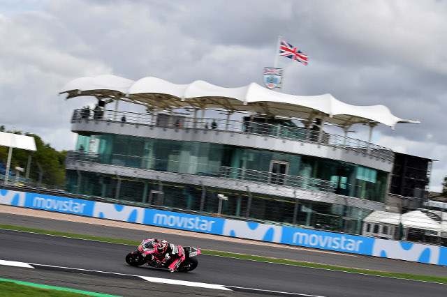 Clasificación moto GP Inglaterra - Silverstone