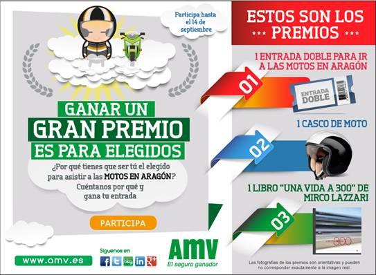 concurso AMV GP Aragón