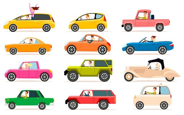 coches por segmentos