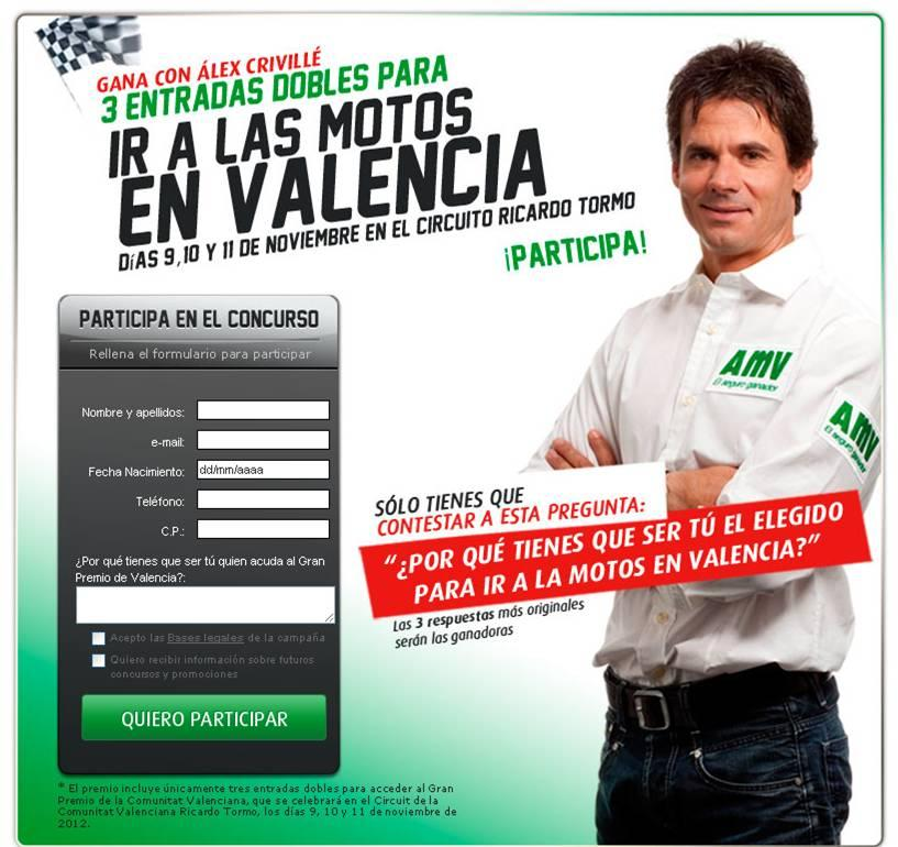 Concurso AMV - Motos Valencia