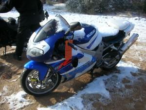 Imagen de una moto.