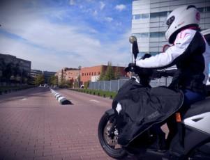cubrepiernas de moto