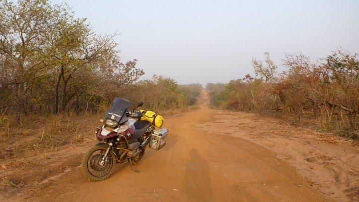 Moto en África
