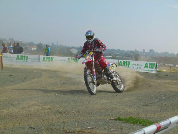 GP AMV de enduro. Moto de enduro. (AMV Prensa)