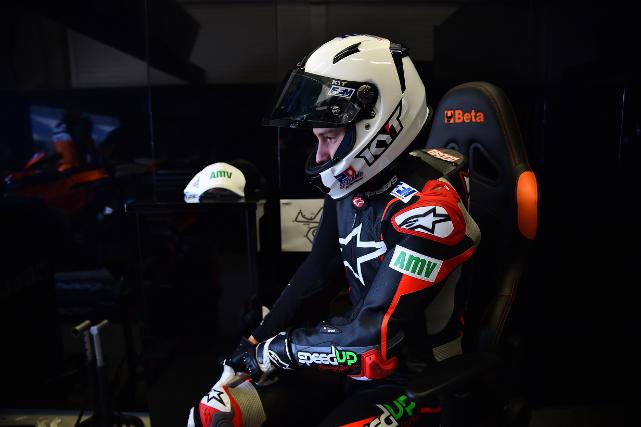 Fabio Quartararo en los Test de Jerez 2018, antes del MotoGP de Qatar