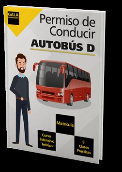 Permiso de conducir Autobús D Gala