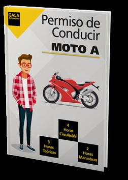 Permiso de conducir Moto A Autoescuela Gala