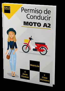 Permiso de conducir Moto A2 Autoescuela Gala