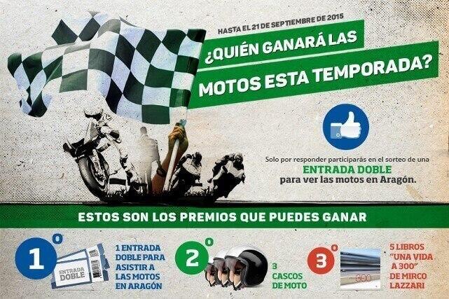 Participa en el concurso AMV y consigue tus entradas para el GP de Aragón