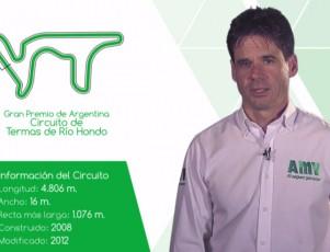 El circuito de Termas de Río Hondo en el GP de Argentina 2016