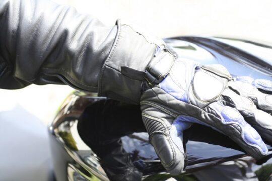guantes calefactables moto