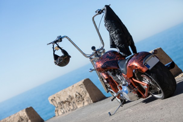 Moto custom.